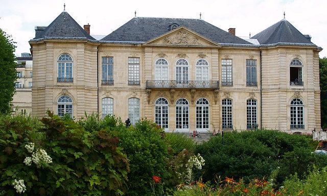 Сады музея Родена