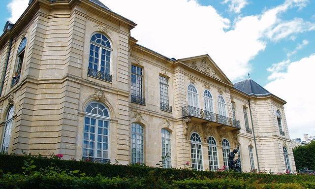 Фасады музея Родена