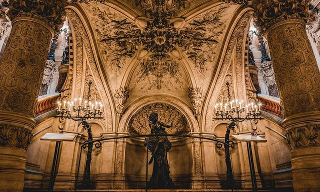 Интерьеры оперы Гарнье
