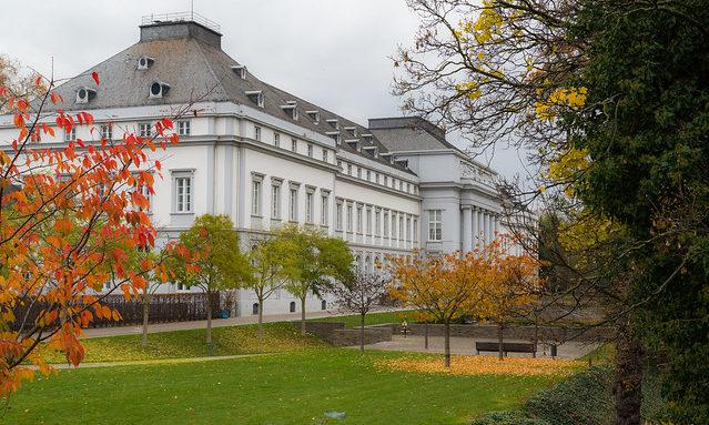 Осенний Кобленц