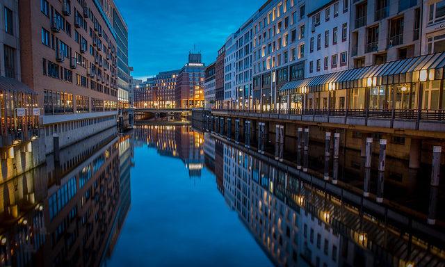 Вечерний Гамбург