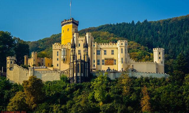 Замок 19-го века в Кобленце