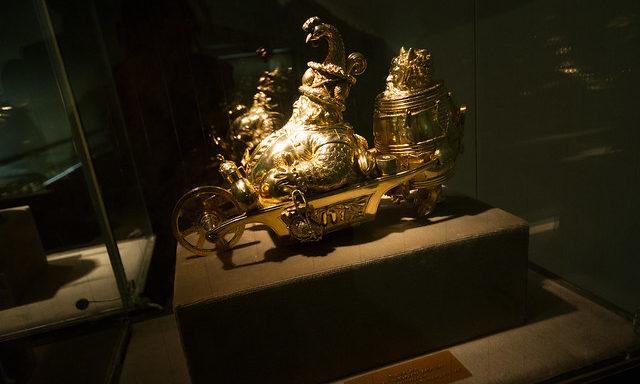 Экспонаты замка Эльц