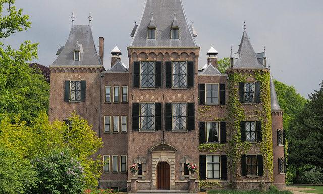 Парадный фасад дворца Кекенхоф